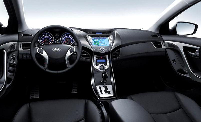 Hyundai Elantra 2011 Photo Exclusive De L Habitacle